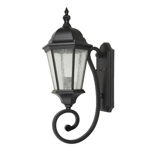 Top Dunanney 1-Light Outdoor Wall Lantern By Canora Grey