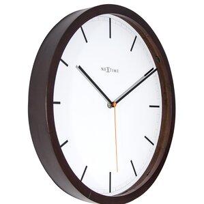 Home Goods Wall Clocks espresso wall clocks you'll love | wayfair