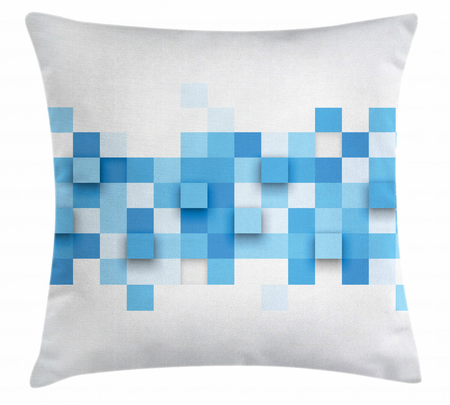 East Urban Home 3d Graphic Modern Indoor Outdoor Geometric40 Throw Pillow Cover 3d Graphic Squares Pattern Modern Mosaic Geometric Design Wayfair