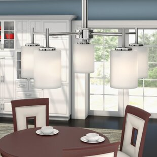 Clearance Knouse 5-Light Shaded Chandelier By Zipcode Design