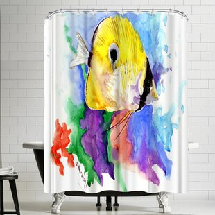 Suren Nersisyan Coral Reef Fish Single Shower Curtain