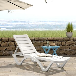 Ramona Reclining Chaise Lounge (Set of 4)
