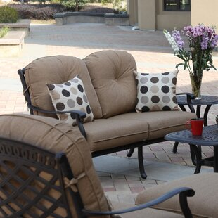 Lenahan Loveseat With Cushions by Alcott Hill Great price