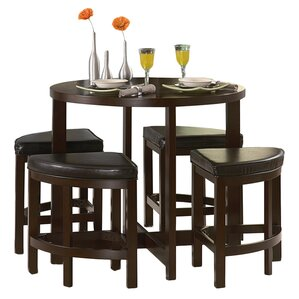 Swineford 5 Piece Counter Height Dining Set by L..