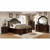 Del Mar Queen Upholstered 4 Piece Bedroom Set by Wrought Studio