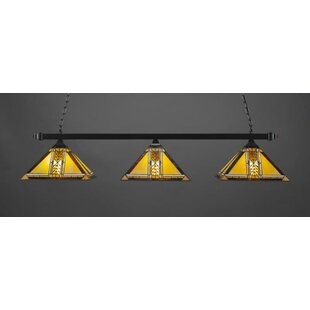 Saffo 3-Light Billiard Pendant By Red Barrel Studio