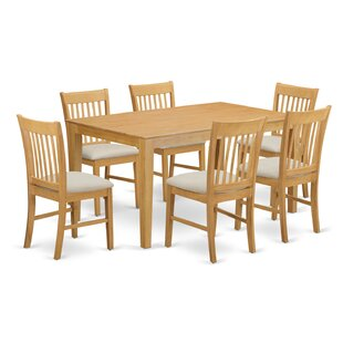 Smyrna 7 Piece Dining Set by Charlton Home Best #1