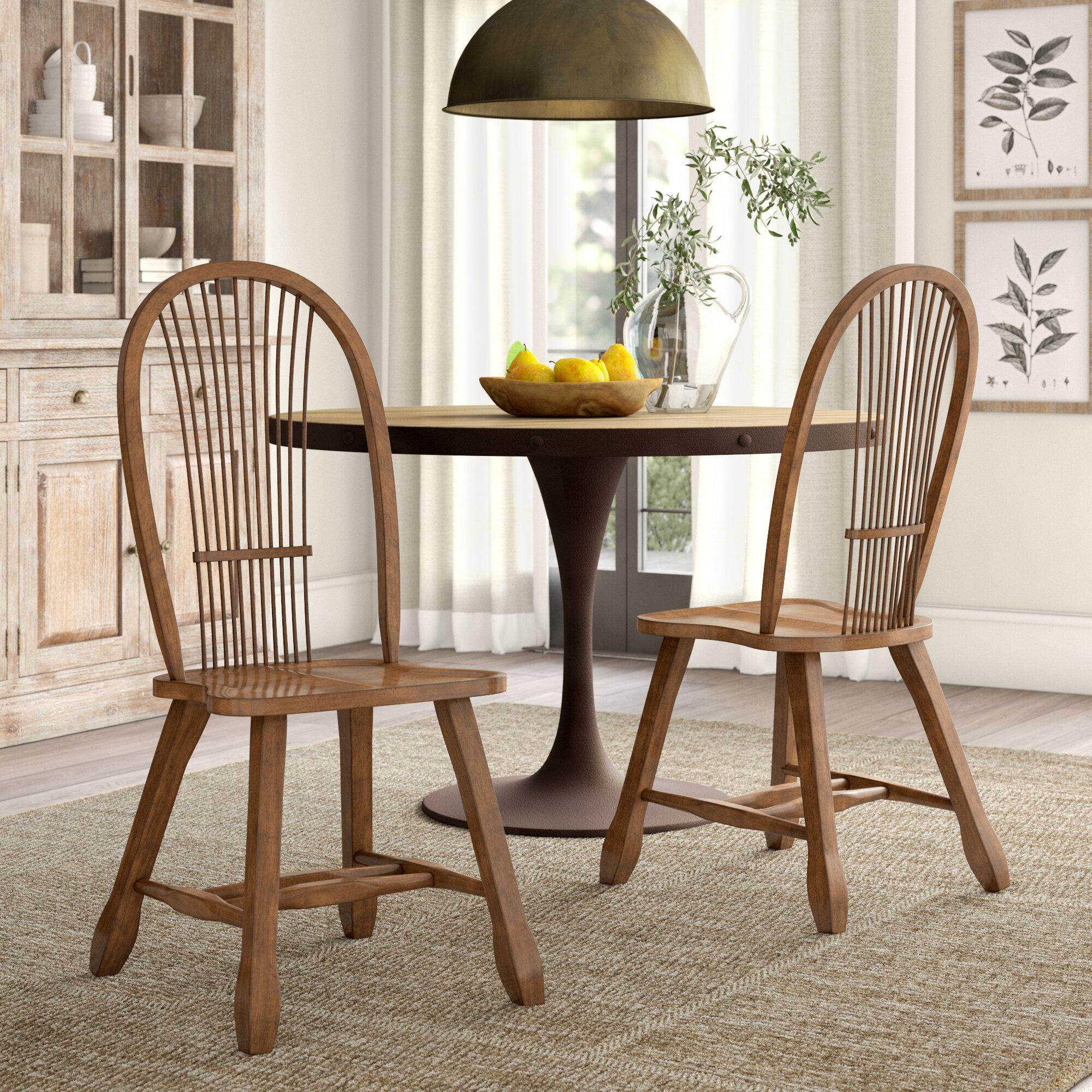August Grove Koffler Slat Back Side Chair Reviews Wayfair