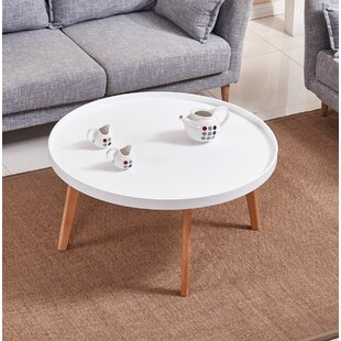Simeone Raised Edge Coffee Table Wrought Studio
