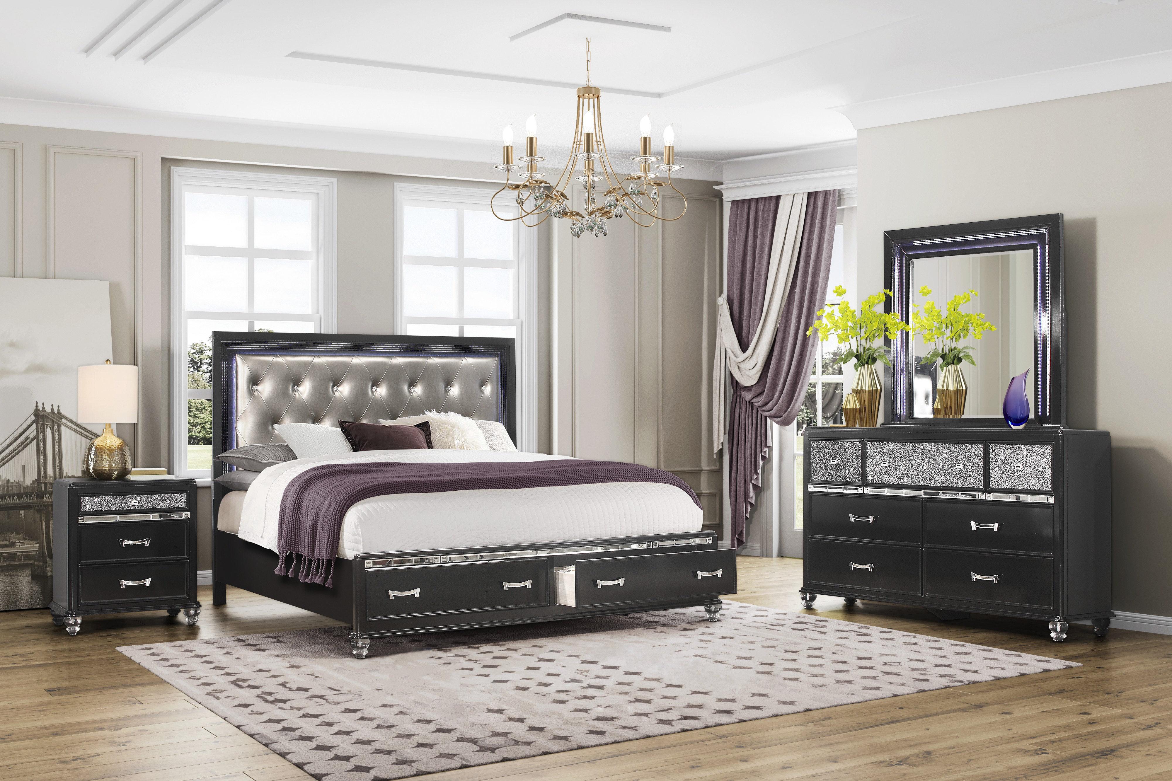 huge discount c3dd1 38e4e Farquhar Standard Configurable Bedroom Set