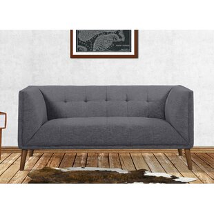 Matthew Mid-Century Chesterfield Loveseat