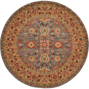 Sebou Blue Area Rug by World Menagerie