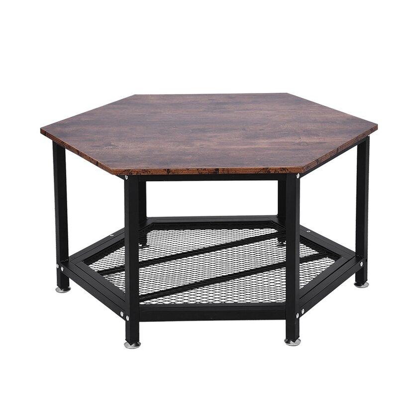 17 Stories Mackie Coffee Table With Storage Wayfair