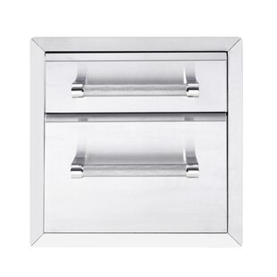outdoor kitchen drawers super grill deluxe outdoor kitchen builtin cabinet for gas grill 7800017 drawers youll love wayfair