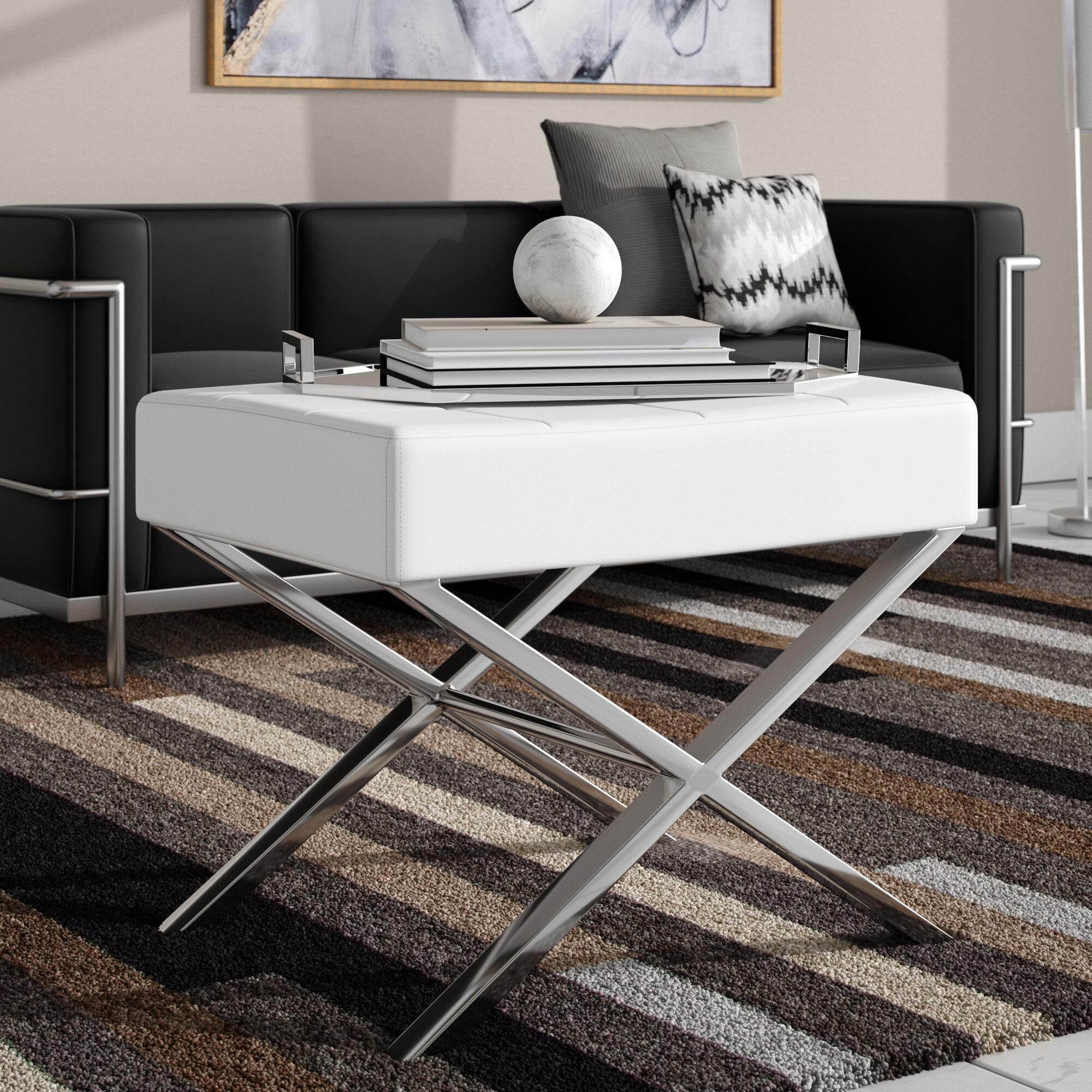 Super Cochran Tufted Ottoman Uwap Interior Chair Design Uwaporg