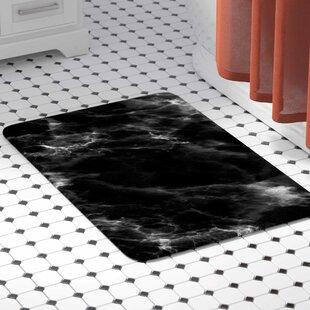 Marble Modern Memory Foam Bath Rug