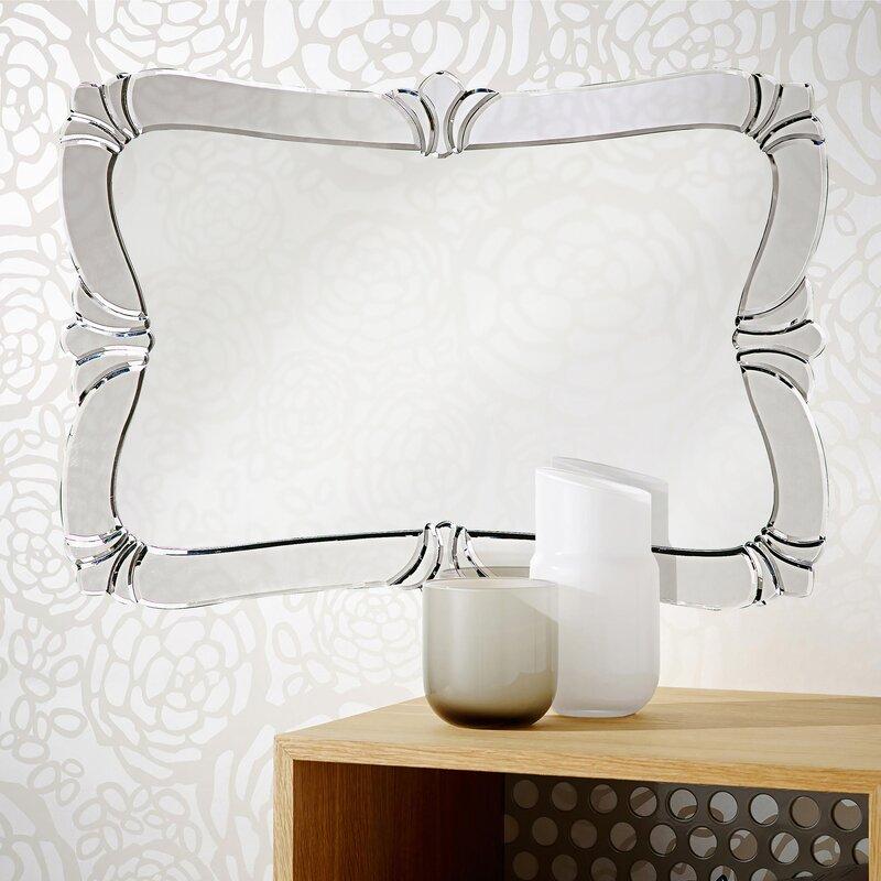 Rosdorf Park Venetian Style Glass Wall Mirror & Reviews ...