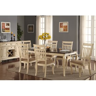 Quirion 7 Piece Extendable Dining Set by One Allium Way Wonderful