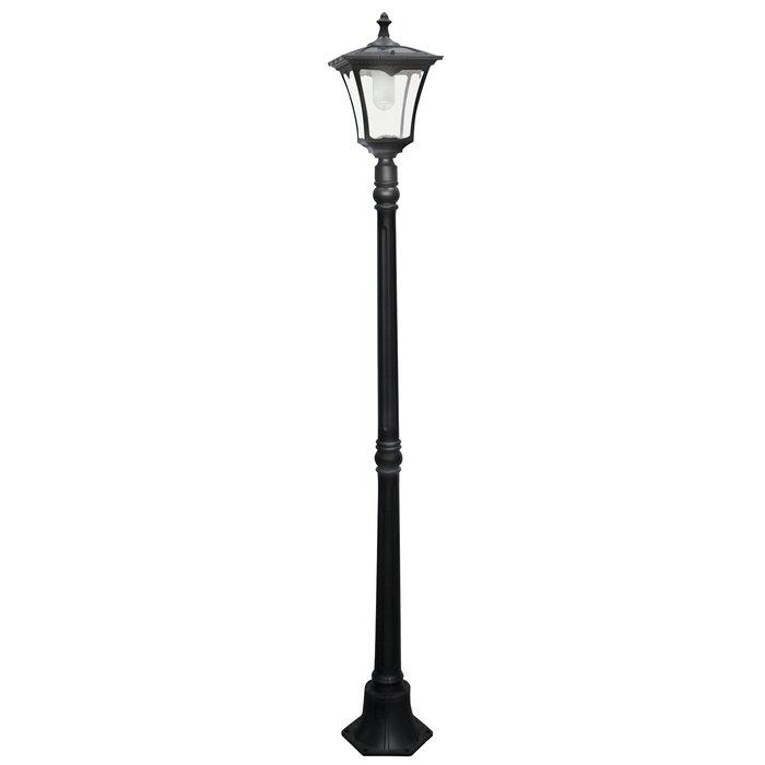 artcraft post dp classico lighting light black outdoor