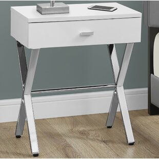 Suffolk 1 Drawer Nightstand Ebern Designs