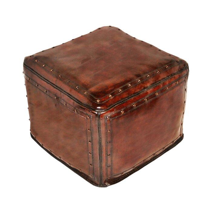 Phenomenal Leather Pouf Ottoman Short Links Chair Design For Home Short Linksinfo
