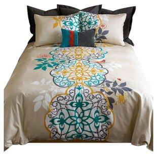 Shangri La 3 Pieces Duvet Cover Set. By Blissliving Home
