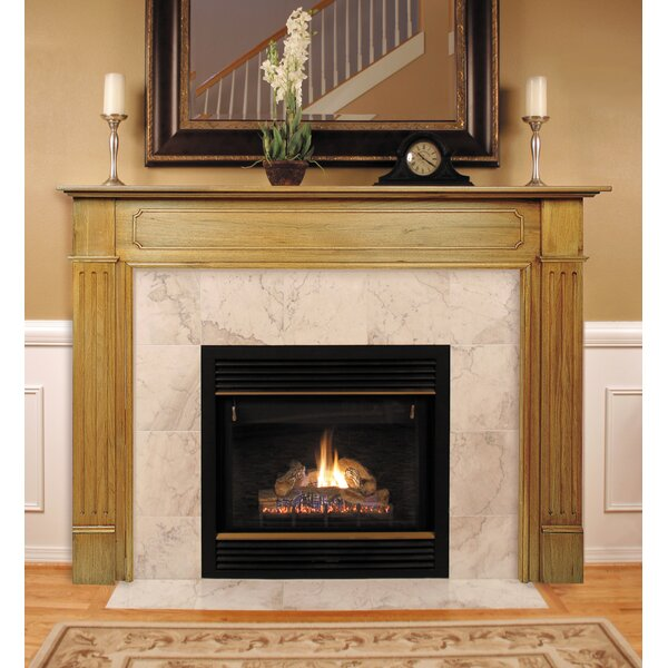 monticello surround fireplace mantel
