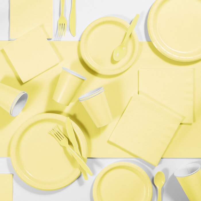 Creative Converting Paper Dinner Plate Set of 24
