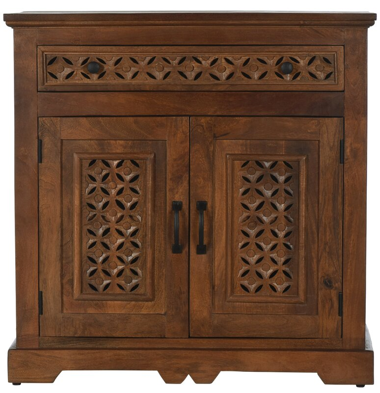 Chevell 2 Door Accent Cabinet by Bungalow Rose