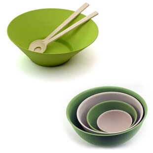 Bamboo 7 Piece Salad Bowl Set