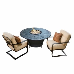 Owego 3 Piece Conversation Set With Cushions by Darby Home Co Cheap