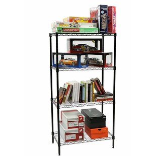 4-Shelf Wire Shelving 48