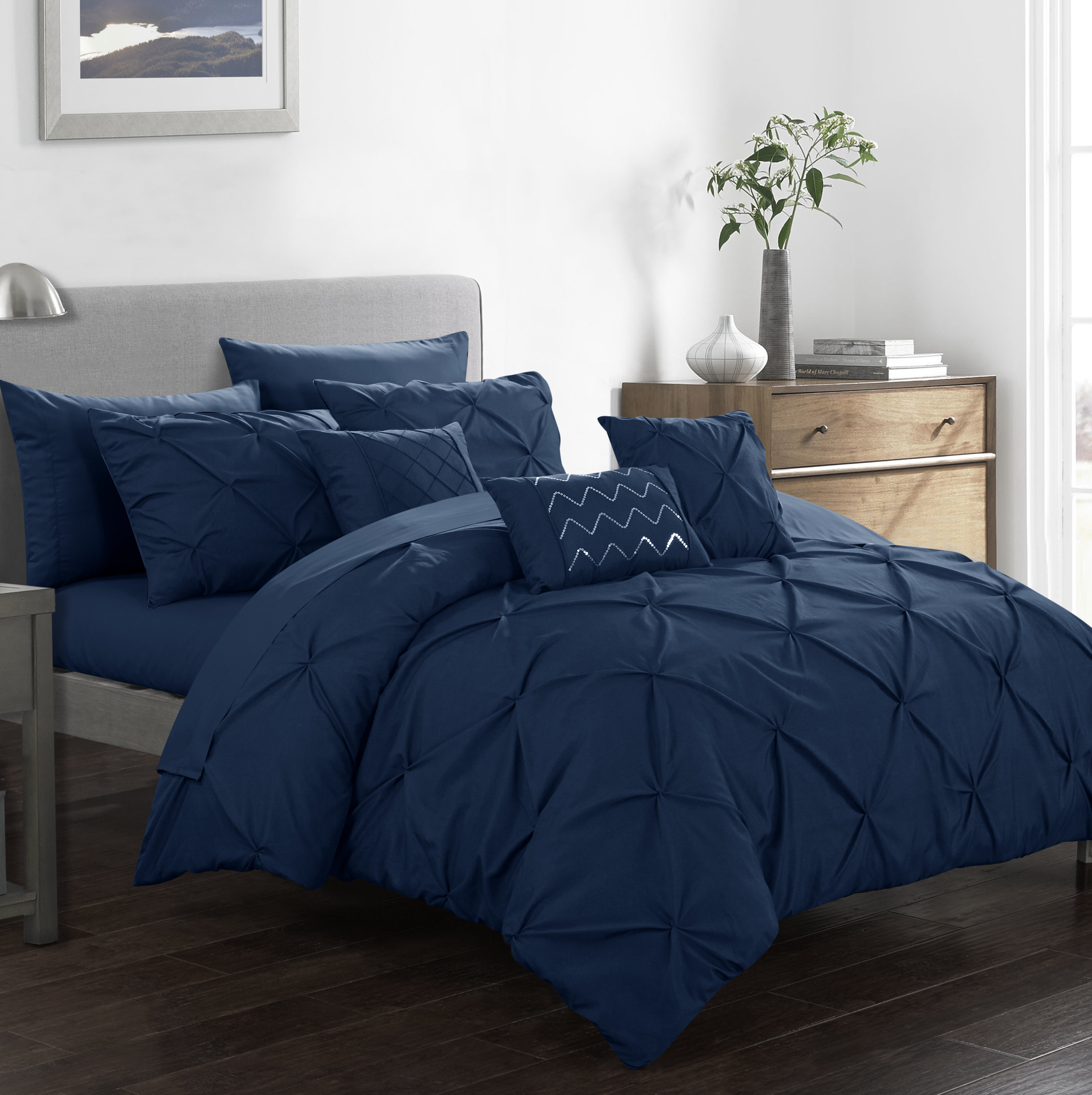 Willa Arlo Interiors Karyn 10 Piece Comforter Set Reviews Wayfair Ca