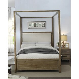Atchison Upholstered Canopy Bed by Foundry Select