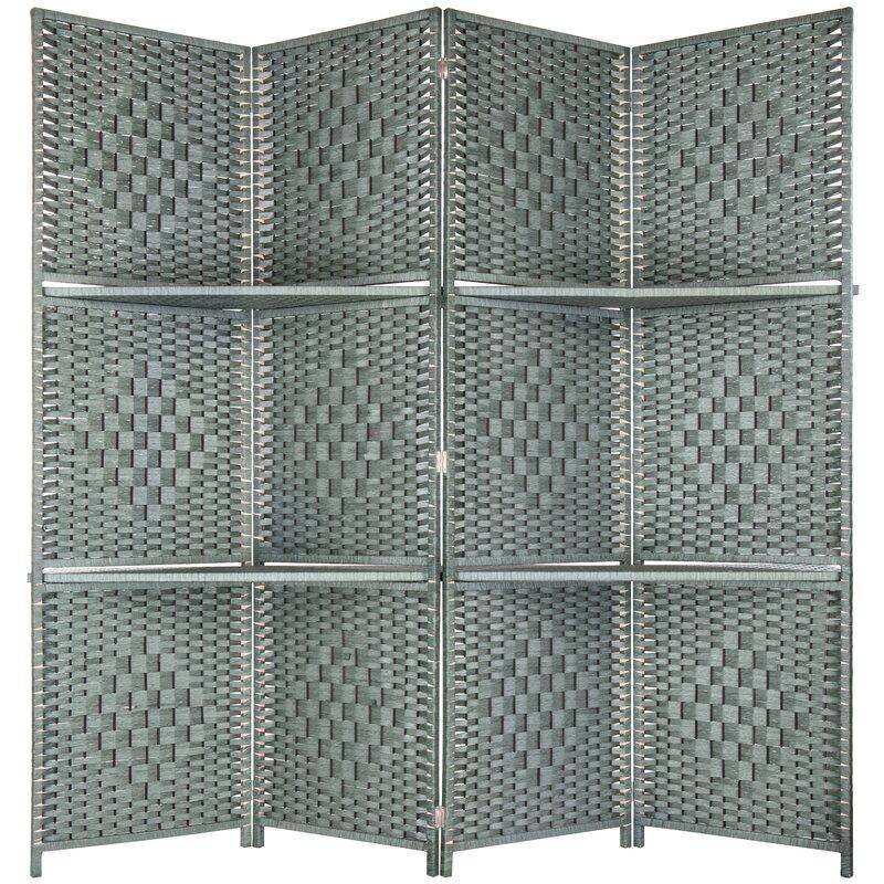 Dakota Fields 78 8 4 Panel Folding Room Divider Wayfair
