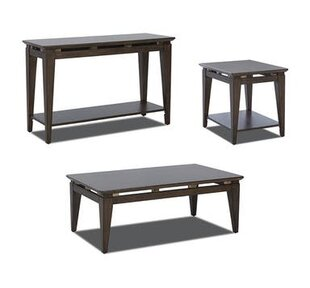 Amabilia 3 Piece Coffee Table Set