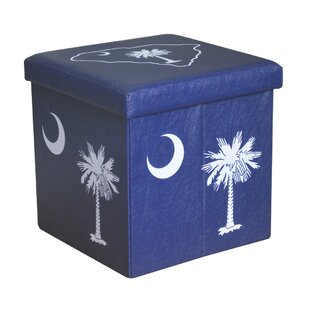Palmetto Small Storage Ottoman by Seasons Designs
