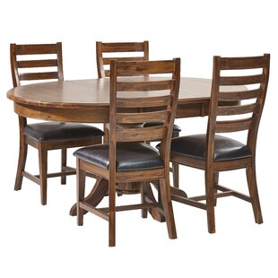 Awesome Silverado Round Table Dining Set With 4 Chairs