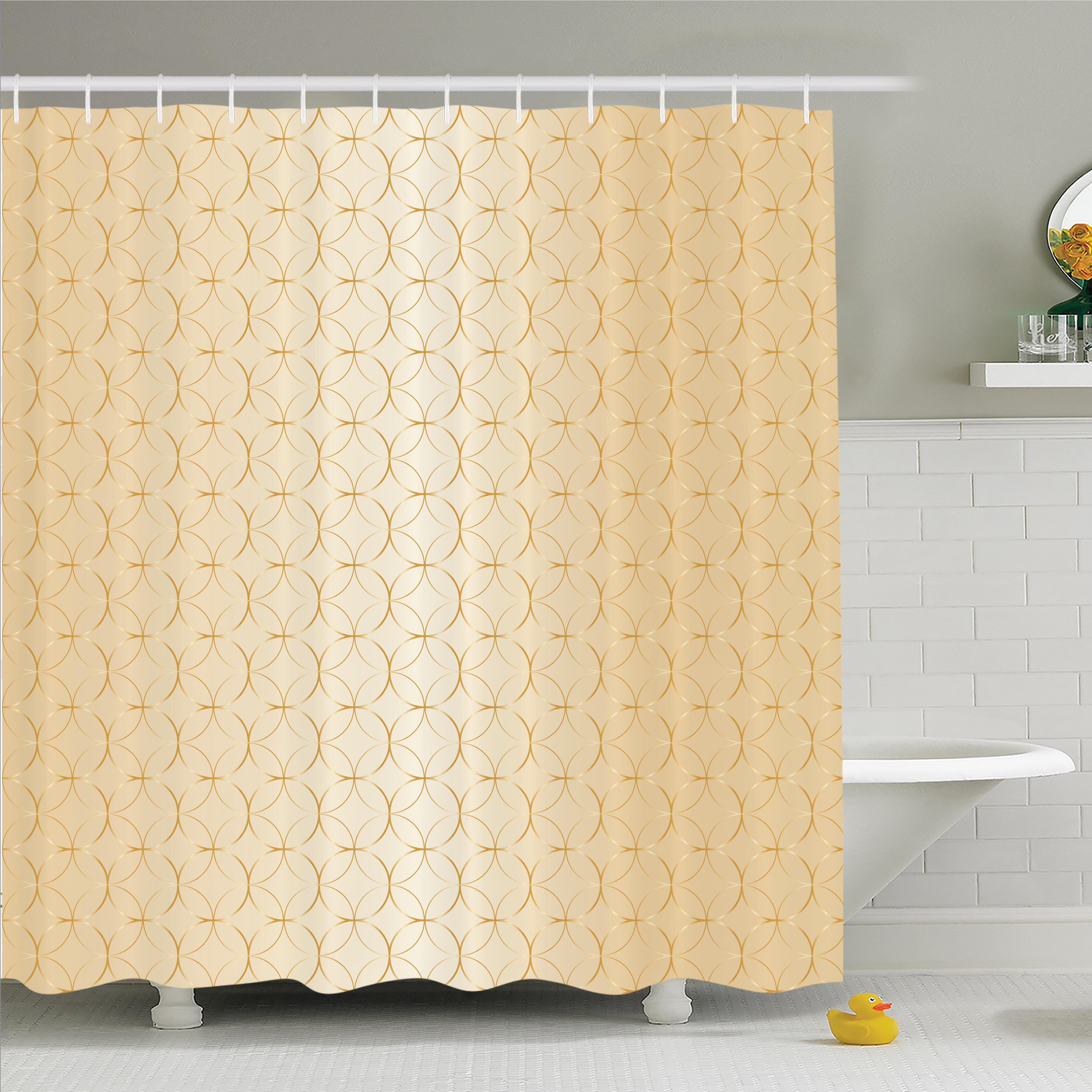 Ambesonne Geometric Shower Curtain Set