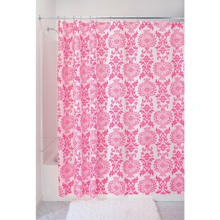 Damask Single Shower Curtain by InterDesign Read Reviews