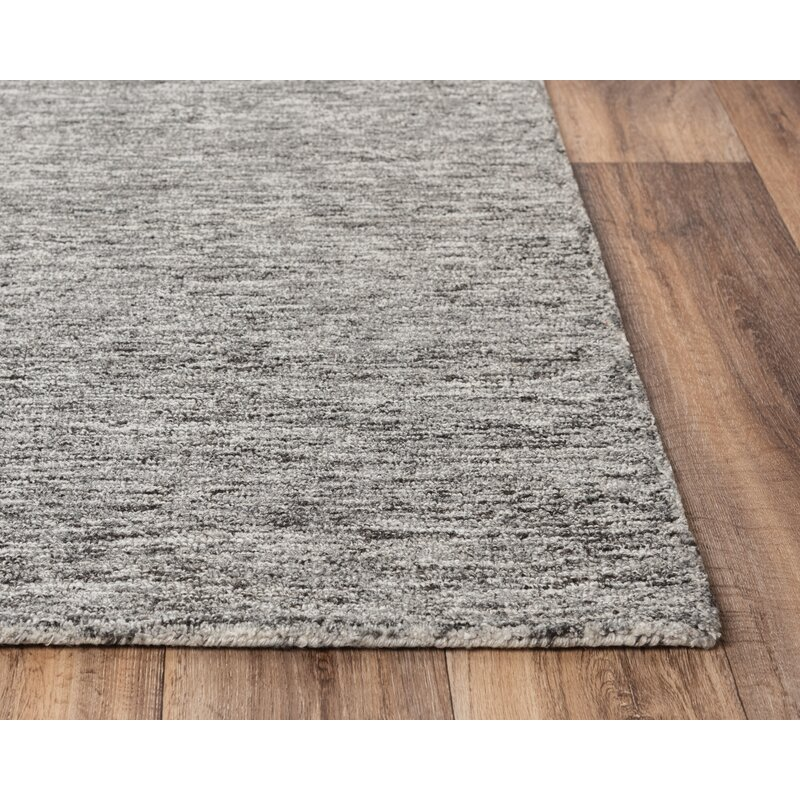 Latitude Run Nani Hand Tufted Wool Gray Area Rug Wayfair