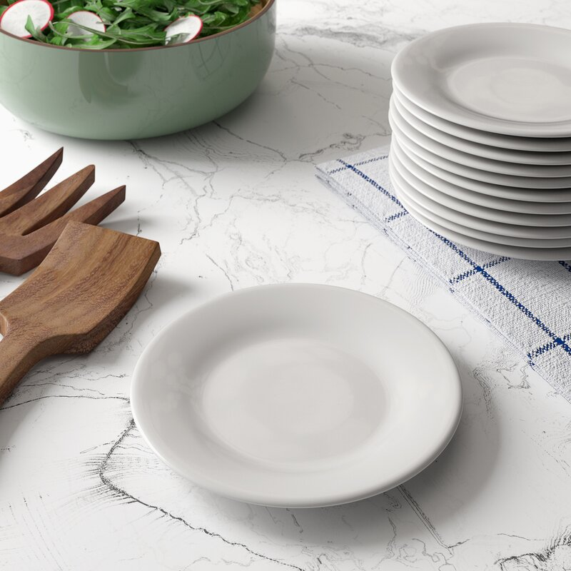 Mint Pantry Elinore Solid Color Melamine 7 88 Appetizer Plate Wayfair