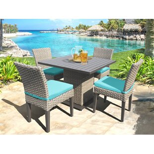 Monterey 5 Piece Dining Set with Cushions