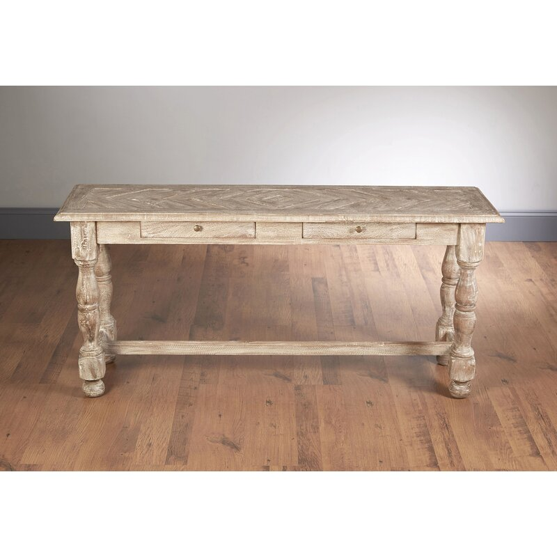 AA Importing Console Table  Color: Weathered Sand