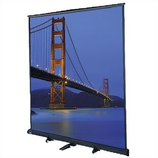 Floor Model C Matte White Manual Projection Screen