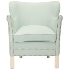 Amanda Robins Wing back Chair by Safavieh