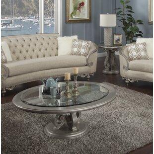 Rosabella 2 Piece Coffee Table Set