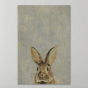 'What Up Rabbit' Canvas Art