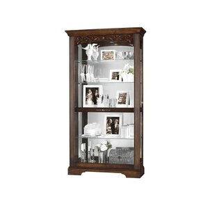 Hartland Lighted Curio Cabinet by Howard Miller®