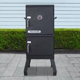 Vertical Charcoal 353.8 Square Inches Smoker